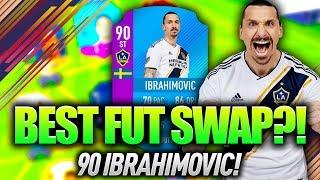 90 ZLATAN IBRAHIMOVIC THE BEST FUT SWAP CARD FIFA 18 ULTIMATE TEAM