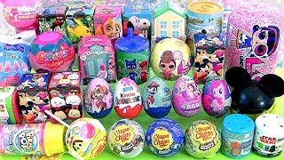 31 Surprise Eggs, Peppa Pig, LOL dolls, Chupa Chups toys