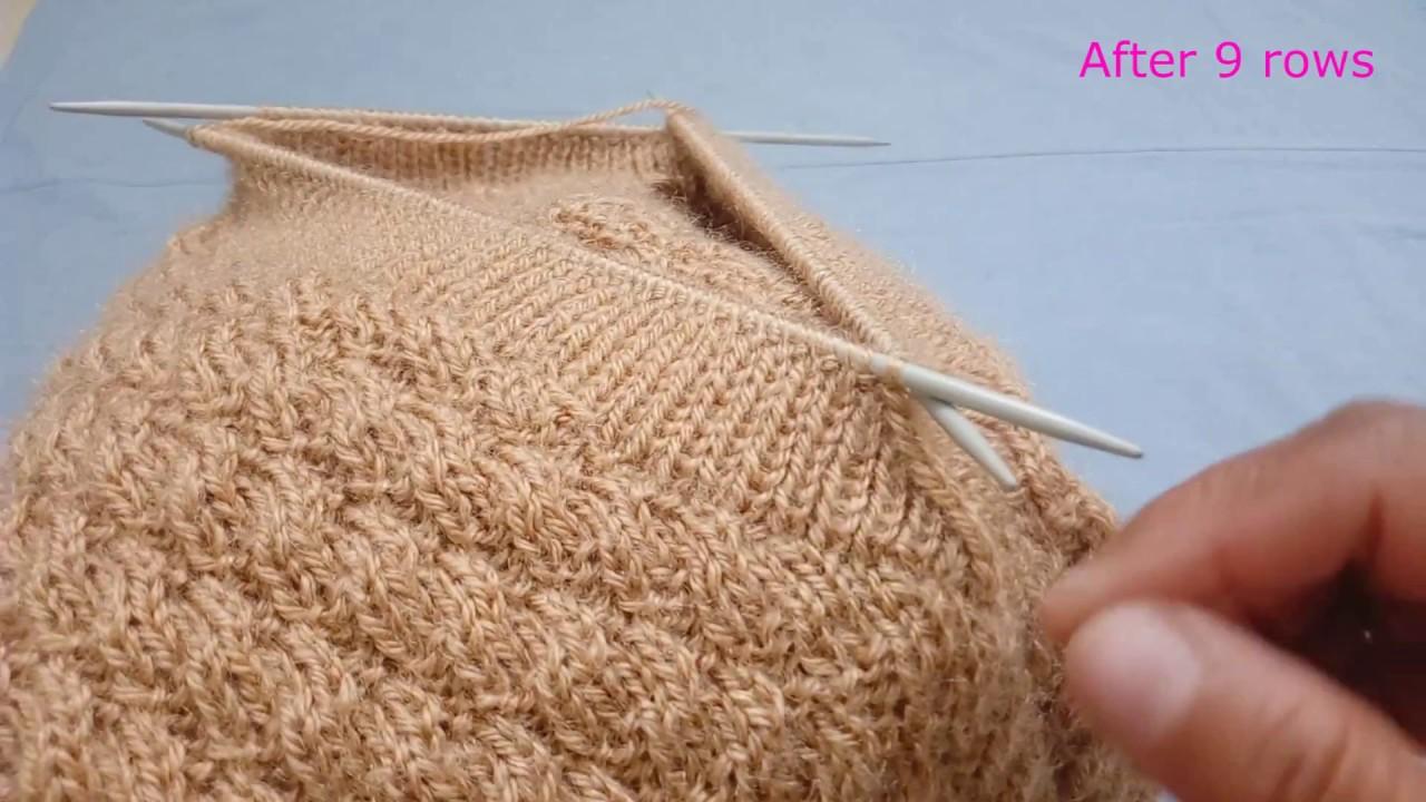 d9091d9a0a59 V- Shape Neck Knitting