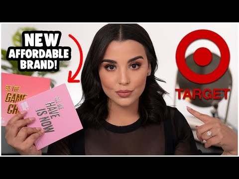 NEW AFFORDABLE MAKEUP BRAND UNDER $15 AT TARGET! | MakeupByAmarie thumbnail