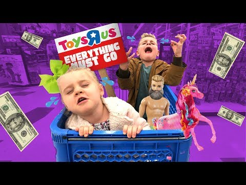 Kids On Last Toys R Us Shopping Haul: $20 For Favorite Toys!