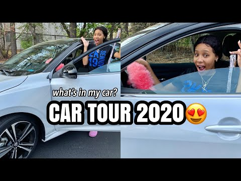 Car tour 2020   What's in my FIRST car?