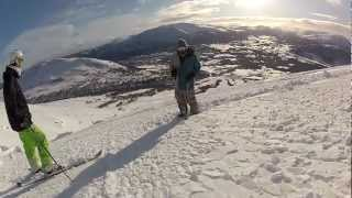 GoPro HD: Untitled - Skiing