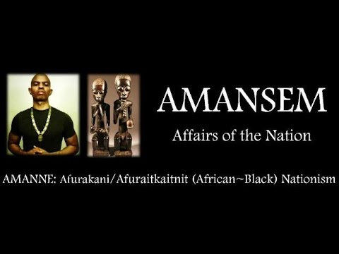 AMANSEM: Morality as the Foundation of Nationism - AMANNE