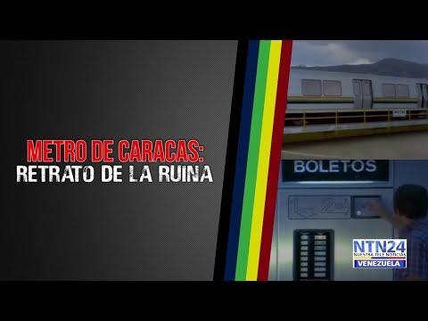 Metro de Caracas: Una herencia convertida en ruinas