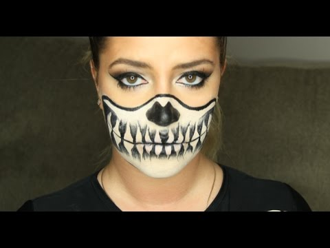 ?EASY SKELETON HALLOWEEN MAKEUP? thumbnail