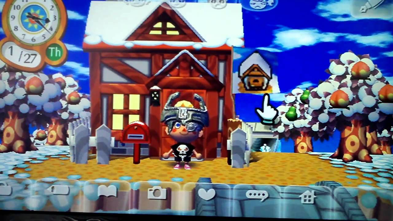 Animal Crossing City Folk: House Tour