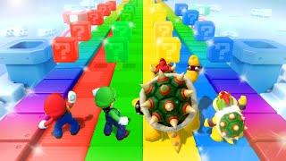 Super Mario Party MiniGames - Mario Vs Bowser Vs Luigi Vs Bowser Jr (Master Difficulty)