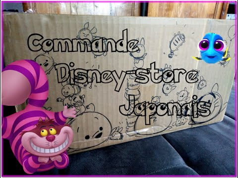 ouverture de ma commande sur le disney store japonais a valait le coup de gal rer xd youtube. Black Bedroom Furniture Sets. Home Design Ideas
