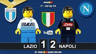Download Video Lazio Napoli 1-2 • Serie A 2018/19 (18/08/2018) • All Goal Highlights Sintesi Lego Calcio Football MP3 3GP MP4