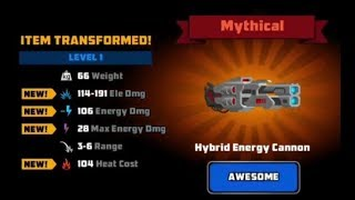[Super Mechs] HYBRID CANNON MYTHICAL! *New Energy Item Special*