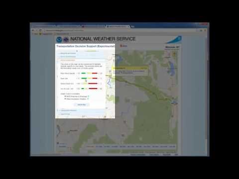 National Weather Service Travel Page