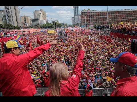 Discurso completo de Nicolás Maduro y Diosdado Cabello en Av Bolívar este 2 febrero 2018