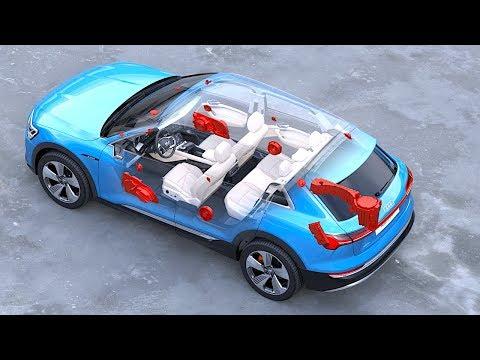 Audi etron Interior In Detail World Premiere Audi Electric SUV Interior Options Video CARJAM