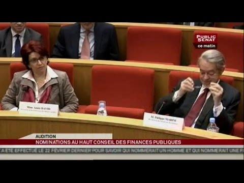 Audition de Michel Aglietta et Mathilde Lemoine - AUDITION (13/03/2013)