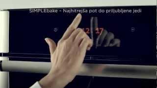 GORENJE pečica HomeCHEF: Funkcija pečenja SIMPLEbake