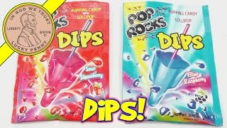 Pop Rocks Dips Strawberry & Blue Raspberry