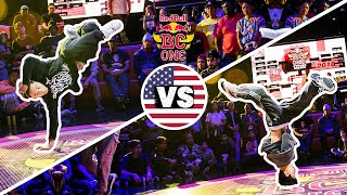 Red Bull BC One Cypher Boston 2018 | Final: P-Nut vs. Icey Ives