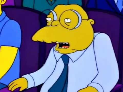 Hans Moleman I Was Saying BOOurns Boo Urns Boo-urns
