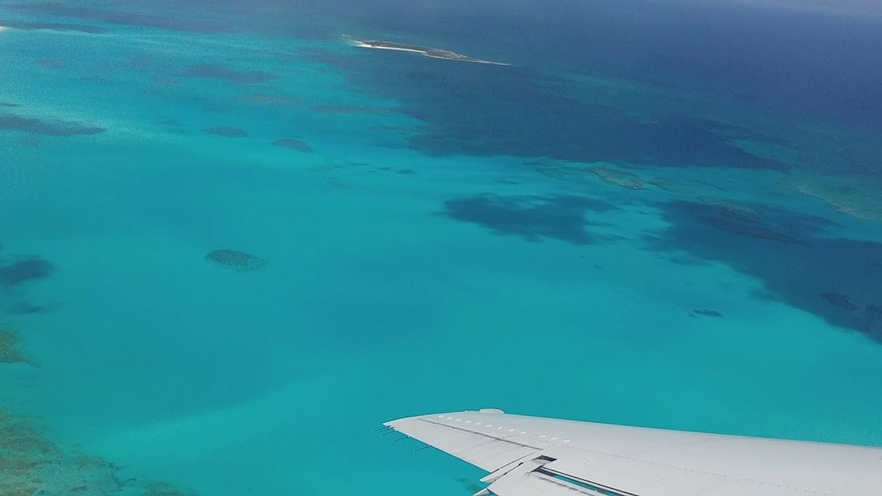 Take Off GGT Exuma Airport, Bahamas  American Eagle
