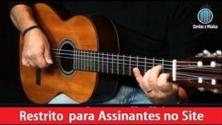 Lulú Santos - Como uma onda (Aula de Violão Popular) - Cordas e Música