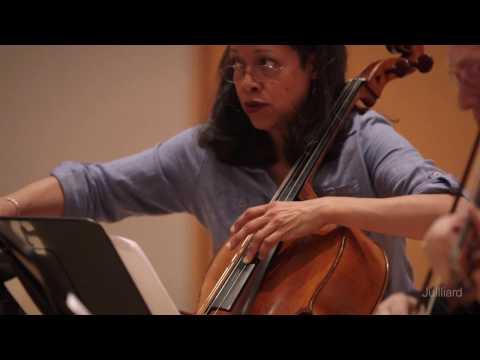 Juilliard String Quartet Rehearses Davidovsky's