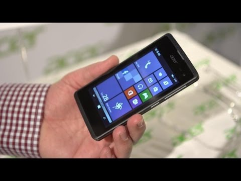 The Liquid M220 is Acer's first Windows Phone
