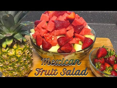How to Make a Mexican Fruit Salad EASY | MEXICAN FRUIT SALAD RECIPE