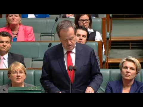 Address to the House on Tony Abbott's attack on Social Security
