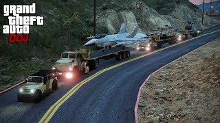 GTA 5 Roleplay - DOJ 233 - Military Equipment Convoy (Civilian)