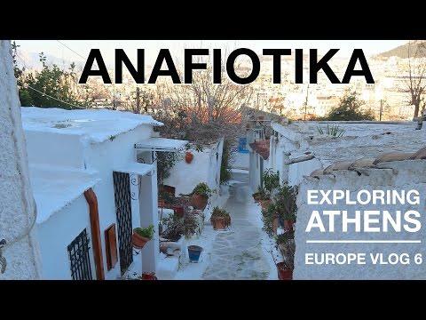 Anafiotika and Wandering Athens | EUROPE VLOG 6