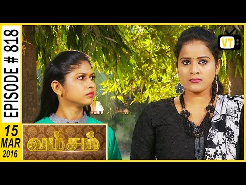 Poomari got a threatening call from a trainer , he ask Poomari to not to win in the running 1:44 Jothika going to Chennai with Madhan 's family , Suddenly Bhoomika called Jothika and ask not to stay in Madhan 's house before engagement 4:10 Jothika went to meet her uncle to discuss about Bhoomika  problem 7:53 Poomari says to Ponnnrangam that she is not ready to participate in next competition , she feel s scared to participate 12:07 Madhan mixing some power in that juice 21:18  Cast: Ramya Krishnan, Sai Kiran, Vijayakumar, Seema, Vadivukkarasi  For more updates,  Subscribe us on:  https://www.youtube.com/user/VisionTi... Like Us on:  https://www.facebook.com/visiontimeindia