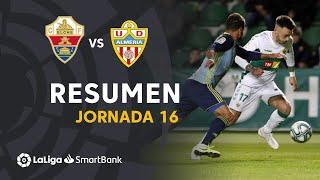 Resumen de Elche CF vs UD Almería (1-1)