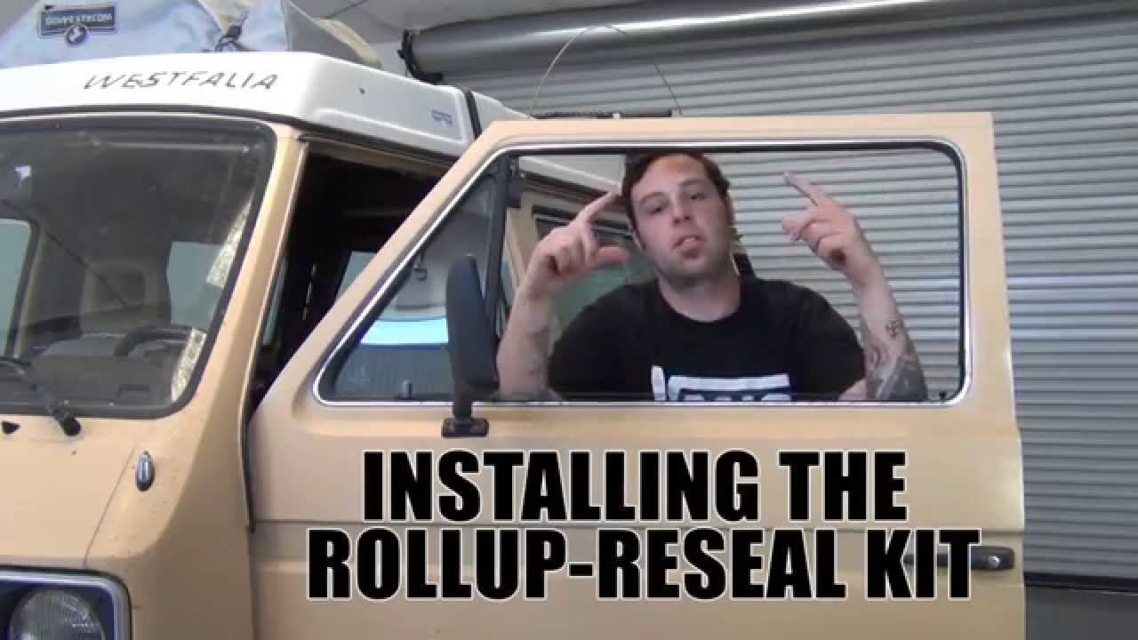 GoWesty Seal Kit for Front Roll-Up Windows [Vanagon]