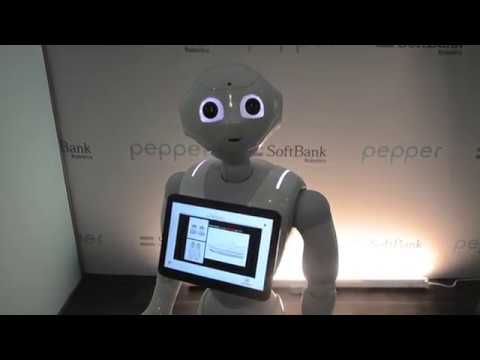 Pepper:Softbank Robotics America