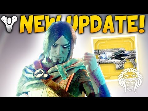 Destiny 2: NEW UPDATE & ENGRAM PACKAGE! Exotic Quest Fix, Special Boss Loot & Deletion Bug