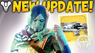 destiny 2 new update engram package exotic quest fix special boss loot deletion bug