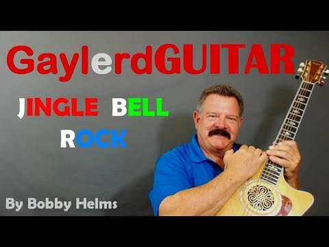 Jingle Bell Rock By Bobby Helms (Christmas Guitar Lesson) PREVIEW
