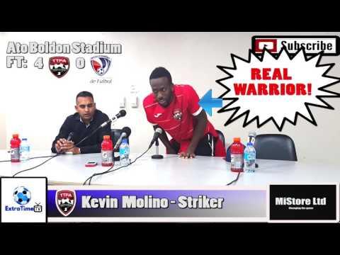 #EXTV: Trinidad & Tobago 4  Dominican Republic 0 Kevin Molino Post Match Comments