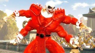 Mortal Kombat Komplete Edition - Santa Claus Kintaro & Deadpool Tag Ladder 4K Gameplay Playthrough