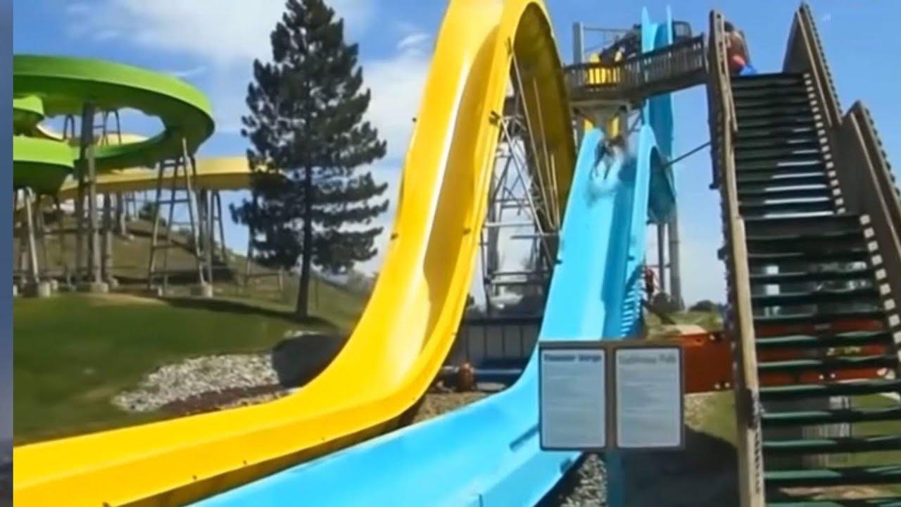 شاهد 9 حوادث أليمة وقعت في حدائق الألعاب المائية