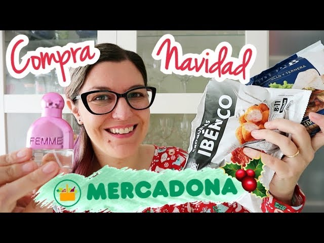 COMPRA SEMANAL MERCADONA NAVIDAD + Tour Tienda