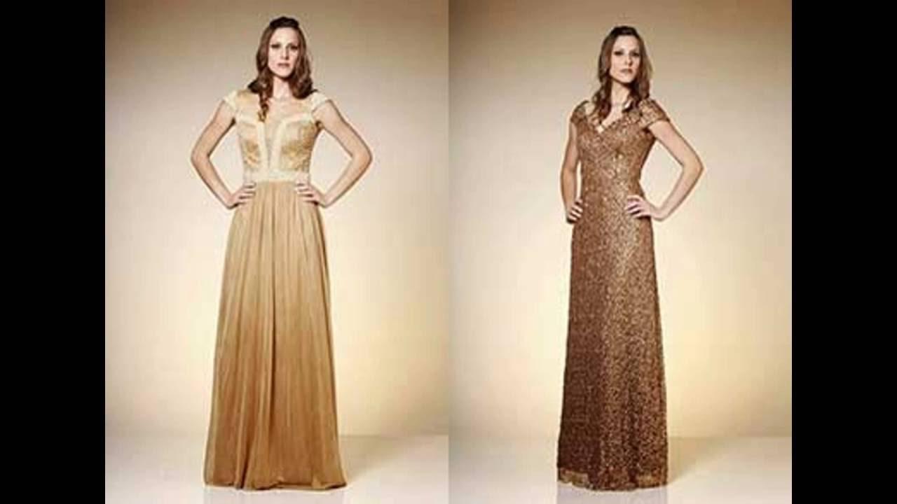 d3533e802a Modelos de Vestidos Femininos Longos Evangélicos (+ Dicas) - YouTube