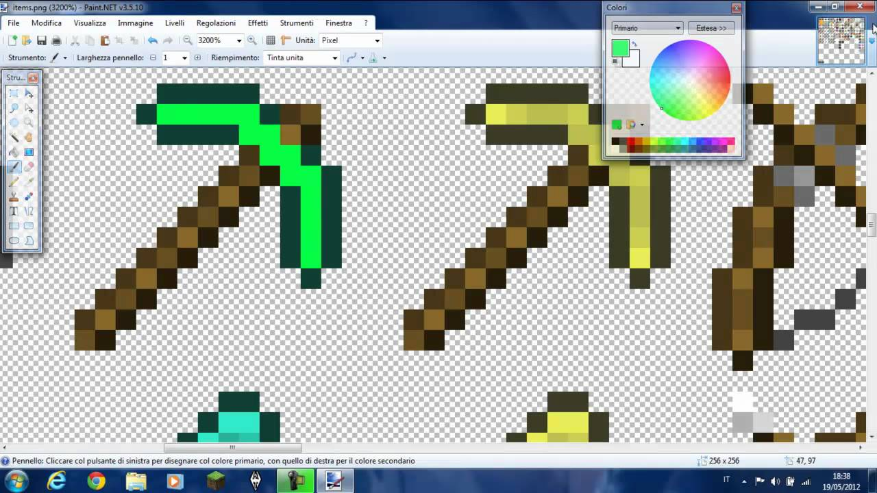 Come Givvarsi Un Piccone Con Efficienza 10000 Su Minecraft