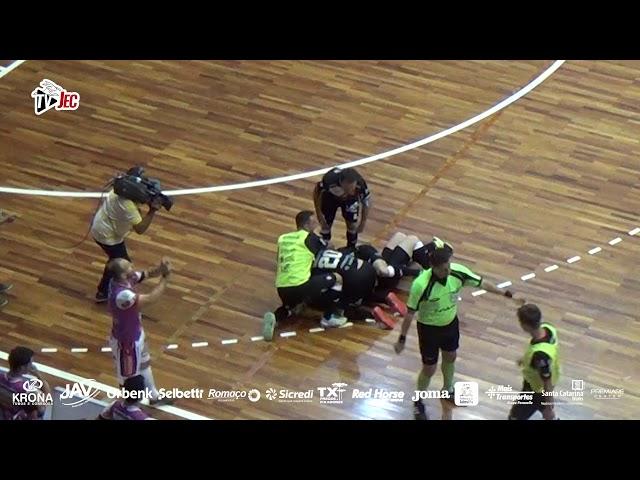 TV JEC - JEC/Krona 3x0 Cascavel - Oitavas de Final LNF