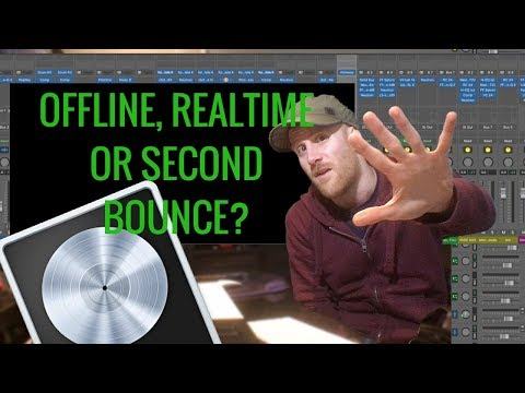 Logic X Bounce Project - How Should You Bounce Down Your Music? Logic Pro