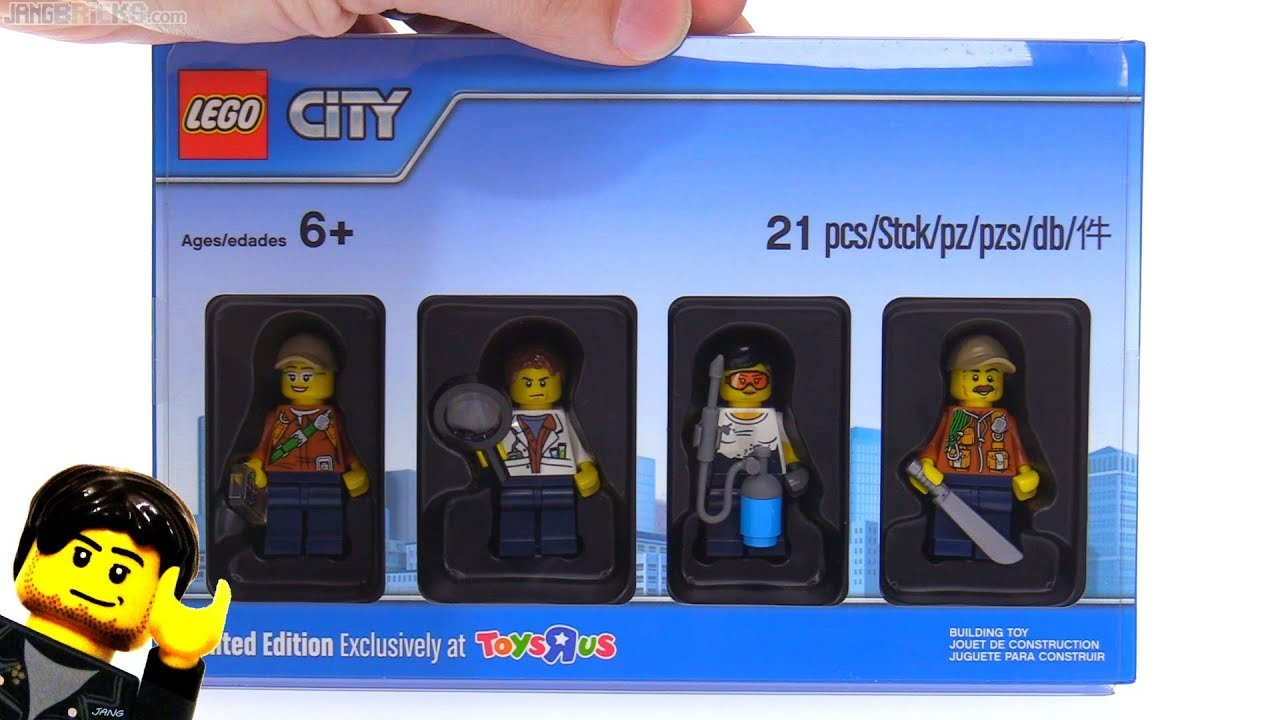 LEGO Toys R Us Bricktober City Jungle minifigure pack ...