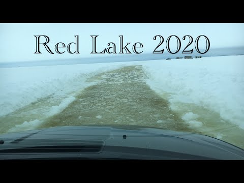 Red Lake Ice Fishing 2020 (fish Caught On Raisin!)