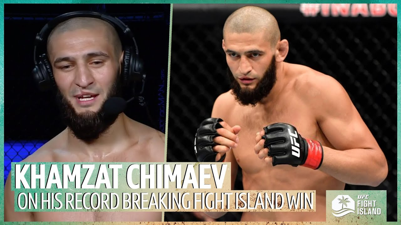 Khamzat Chimaev Is Here To Smash Everyone After Record Breaking Win Ufc Fight Island Youtube