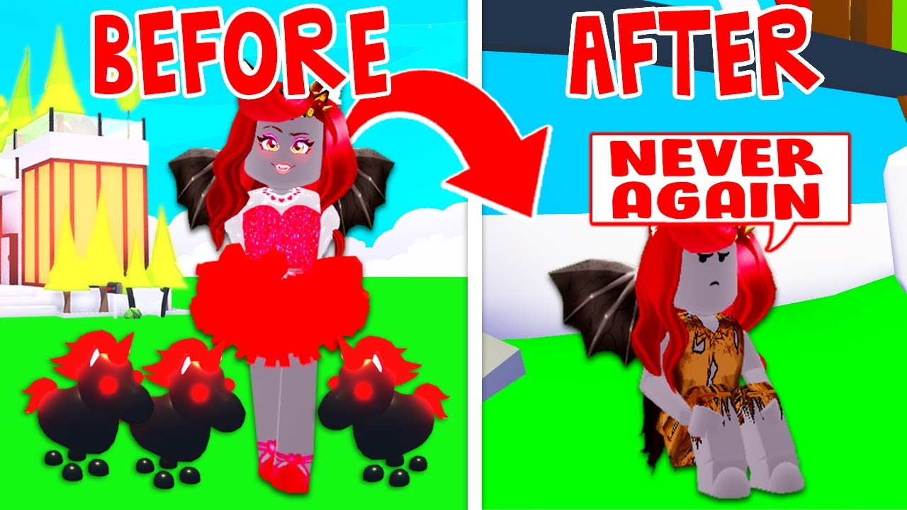 This Hack Made Me Lose All Of My Robux In Adopt Me Roblox